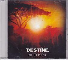 Destine-All The People Promo cd single