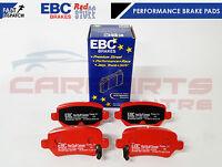 FOR VAUXHALL ASTRA H 2.0 VXR REAR EBC RED STUFF PERFORMANCE SPORT BRAKE PADS
