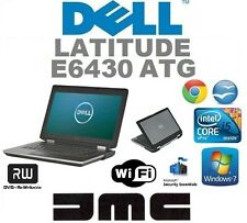 Dell Latitude E6430 ATG Windows 7 / 10 i5 Laptop 8GB RAM 256GB SSD Touch Screen!