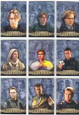 Stargate SG1 Season 5 Complete Dr. Daniel Jackson Tribute Chase Card Set D1-D9