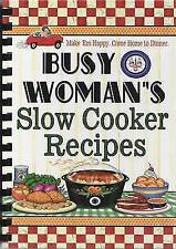 Busy Woman's Slow Cooker Recipes (Busy Women Series) Hardback Book
