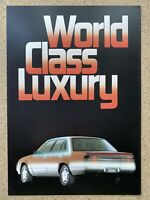 1984 Holden Calais original Australian sales brochure (4P - Writing)