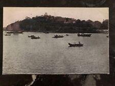 Mint China RPPC Postcard Chefoo Harbor Scene