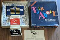 Vintage Pressman Talk About Board Game 1989 Popular TV Game Show Complete