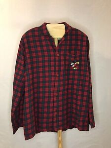 Disney Store Mickey Mouse Men's Night Shirt Size Large