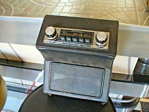 Vintage Motorola 114 Classic Car Radio +Under Dash Mounting.Triumph Herald/Spit