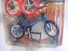 "DOLL HOUSE MINIATURE BICYCLE TOY-ONE:BLUE-GREEN-MAROON 1-14=4-3/4"" L=CAKE TOPPER"