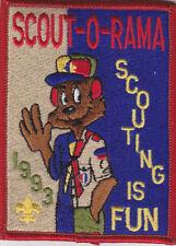 SCOUT O RAMA SCOUTING IS FUN 1993 CC7