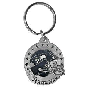 Siskiyou NFL Seattle Seahawks Helmet Metal Key Ring Keychain