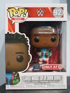 Funko Pop! - XAVIER WOODS (UP UP DOWN DOWN) 92 - WWE - Target Exclusive