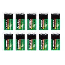10x Camelion Super Heavy Duty Batterie 9V E-Block 9 Volt 6F22 Rauchmelder