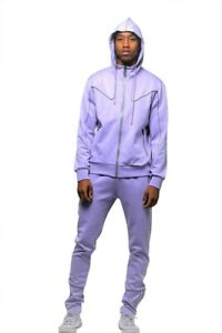 ROYAL 7EVEN Solid Track Suit with Contrast Piping