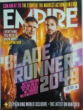Empire August 2017 Blade Runner 2049 Harrison Ford Ryan Gosling FREE SHIPPING sb