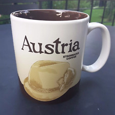 Original Starbucks City Mug 16 oz Global icon city AUSTRIA Series 2016