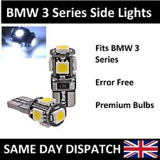 NEW Premium BMW E46 3 Series Canbus LED Side Light 501 W5W 5 SMD White Bulbs