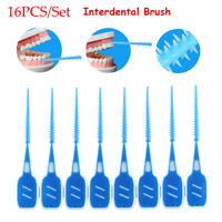 Soft Silicone Toothpick Oral Interdental Cleaning Teeth Floss Dental Gum Brush