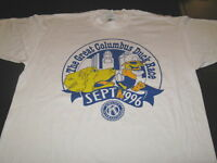The GREAT COLUMBUS Ohio DUCK RACE - Vintage 1996 Kiwanis T-Shirt - New! Adult XL