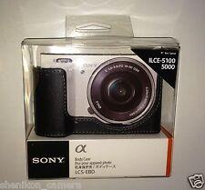 100%25 New Unused Sony LCS-EBD Black Camera Body Case NEX ILCE-5100 5000