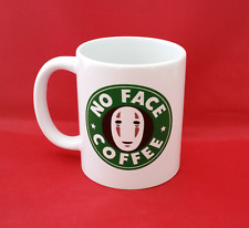 No Face Spirited Away Starbucks Inspired Coffee Tea Mug 10oz Studio Ghibli Anime
