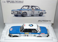 BMW 2002 Winner TAP Rallye Portugal 1972 Warmbold Davenport AUTOART 87247 1:18