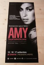 AMY WINEHOUSE THE GIRL BEHIND THE NAME Original Movie Poster Cinema 33x70/12x27