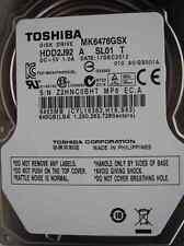 640 GB Toshiba MK6476GSX | 17DEC2012 | HDD2J92 A SL01 T | GS001A Festplatte