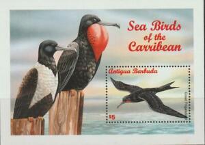 Antigua 1996 Souvenir Sheet #1985 Great Frigatebird - MNH