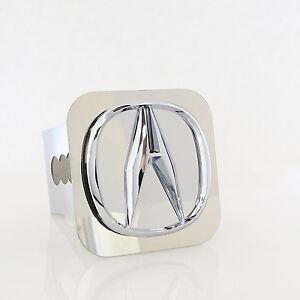 Acura Chrome Clear Logo Tow Trailer Hitch Cover Plug