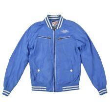 PETROL INDUSTRIES Herren Jacke M 50 blau Sommer Übergangsjacke Jacket wie NEU