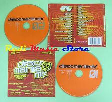 CD DISCO MANIA MIX INVERNO 2003 compilation 2003 DAVID GUETTA GABRI PONTE (C33)