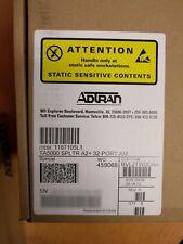 ADTRAN 1187105L1 TA5000 SPLTR A2+ 32-PORT AM BVL2TW0CAA (We also buy ADTRAN!)
