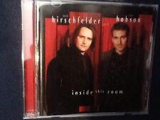 David Hobson And David Hirschfelder Inside This Room Cd