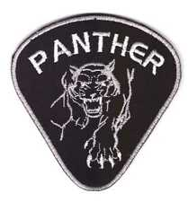Tactical Military Army Badge Morale Patch Biker Motorcycle Black Panther
