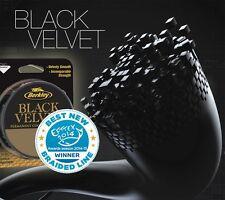 Berkley Black Velvet 110m Geflochtene Schnur Schwarz Angelschnur Spinnschnur