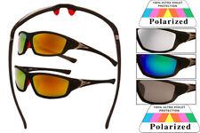 New Polarized Outdoor Sports Eyewear Driving Sunglasses Wrap Around Men GlassesX