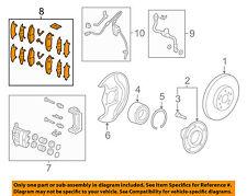 HONDA OEM Brake-Front Pads 45022TZ5A01