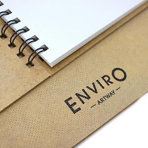 Artway Enviro Spiral Bound Recycled Sketchbooks - 170gsm