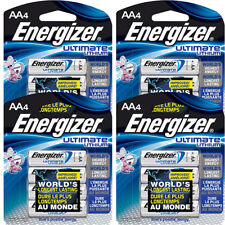 16 Energizer AA Ultimate Lithium Batteries L91BP  (4 X 4 pks) exp 2036