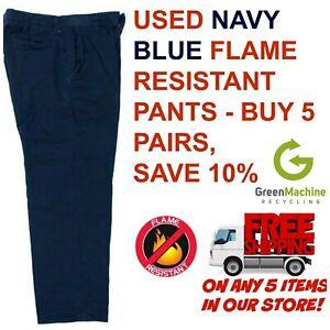 Used Flame Resistant FR Work Pants Cintas RedKap Unfirst G&K