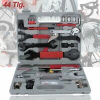 Boîte de Réparation pour Vélo 44 Pièces Outils Bicyclette Bike MTB VTT + Coffret