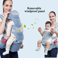 Ergonomic Infant  Carrier Hip Seat Stool Adjustable Wrap Sling Backpack PE