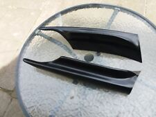 BMW E90 E91 M-SPORT FRONT BUMPER CORNER LIP SPOILER SPLITTER 05 TO 08 MODELS UK