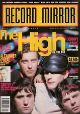The High on Magazine Cover 26 January 1991   Johnny Panic    Alexander O'Neal