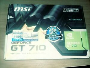 Video Card MSI nVidia GeForce GT 710,1гб,DDR3