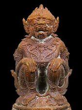 Lord HANUMAN Hindu God Ramayana Puja Monkey STATUES Figurine Thai Buddha Amulet