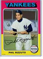 Phil Rizzuto 2019 Topps Archives 5x7 #189 /49 Yankees