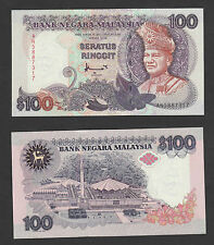 7th Series RM100 Ahmad Don 1st prefix #AN (H & S printer) - Crisp UNC
