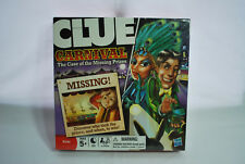 """Hasbro Clue Carnival """"The Case of the Missing Prizes"""" Game NEW"""