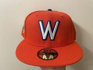 "HAT CLUB EXCL. ""CEREAL PACK"" WASHINGTON SENATORS NEW ERA SIZE 7 1/2 GREY UV"
