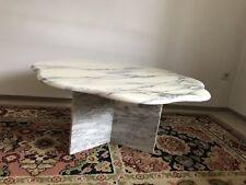 marmor tisch weiß
